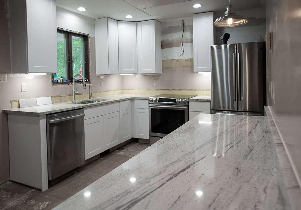 Kitchen Countertops Quartz Marble And Granite