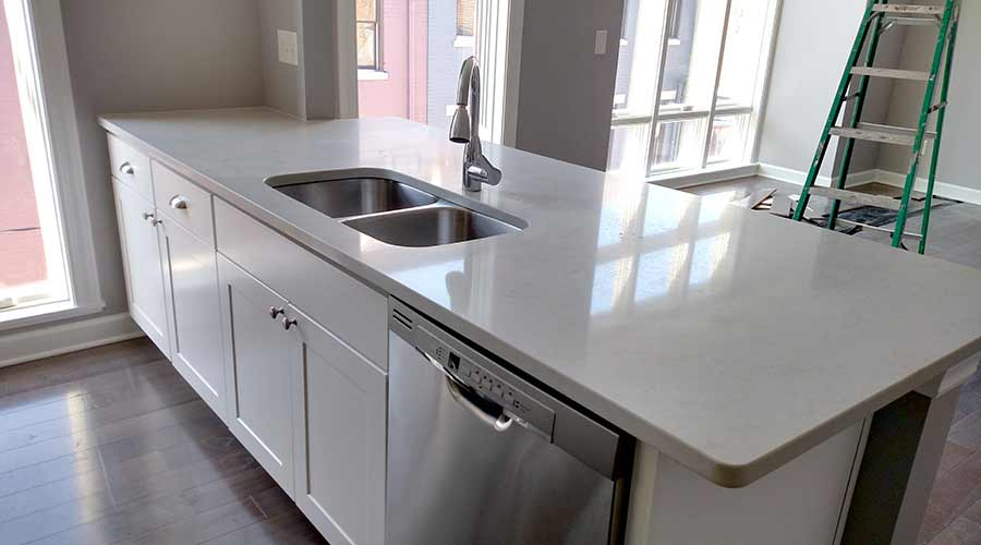 London Grey Quartz Countertop