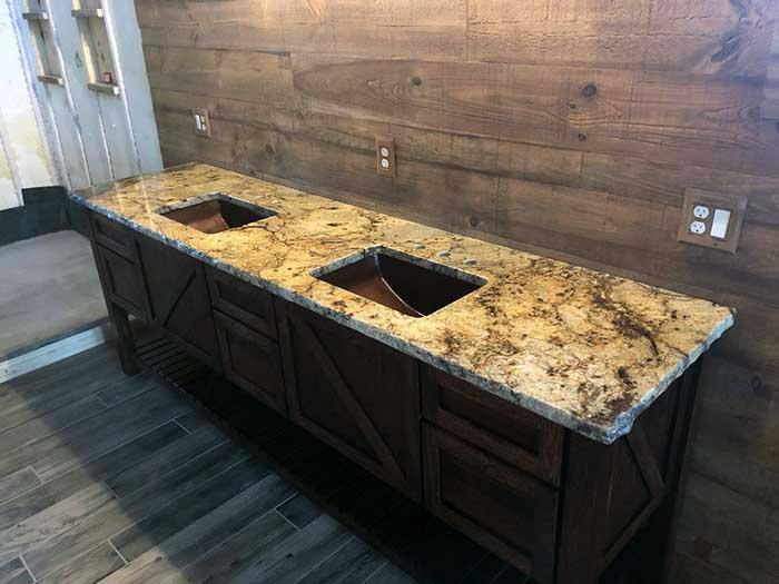 Golden Crystal Granite Countertops